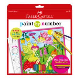 Faber-Castell Paint By Numbers (Fairy Garden)