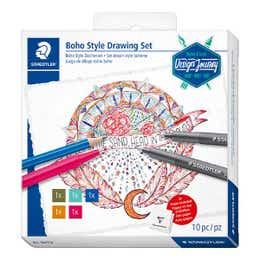 STAEDTLER Design Journey Boho Drawing Set