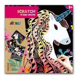 Avenir Magic Unicorn Scratch Art