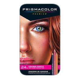Prismacolor Premier Coloured Pencil Portait Set 24