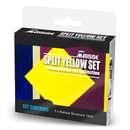 Matisse Structure Split Yellow Complementary Mini Set