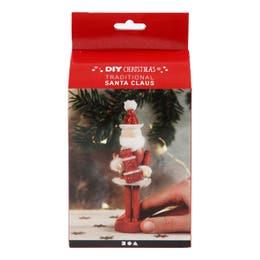 Creativ Christmas Wooden Santa Claus Figure Set