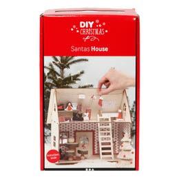 Creativ Christmas Santa House Craft Kit