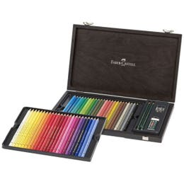 Faber-Castell Polychromos Pencil Wooden Box Set