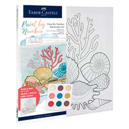 Faber-Castell Watercolour Paint By Numbers (Coastal)