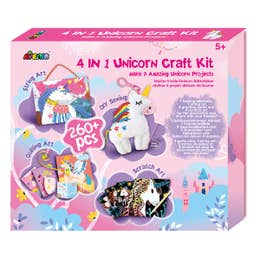 Avenir 4 in 1 Unicorn Craft Kit
