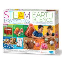 4M Steam Powered Kids Earth Science Kit
