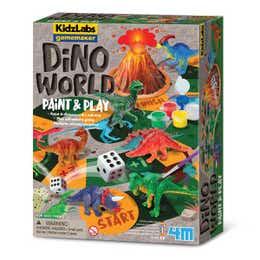 4M Kidzlabs Gamemaker Dino World Paint and Play Kit