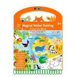 Avenir Magical Water Painting Travel the World Book
