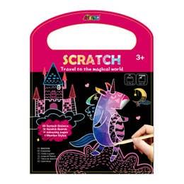 Avenir Scratch Book Travel to the Magical World