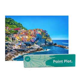 Paint Plot Paint By Numbers Cinque Terre Kit