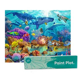 Paint Plot Paint By Numbers Under the Sea Kit
