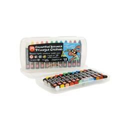 Micador Triangle Crayons Set 12