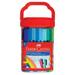 Faber-Castell Connector Pen Bucket of 50