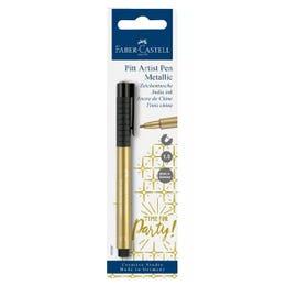 Faber-Castell Pitt Artist Metallic Gold Pen