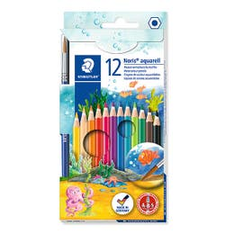STAEDTLER Noris Club Watercolour Pencil Set 12