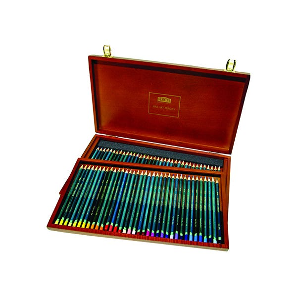 pencil craft school collage gift Reeves Superior Maxi Colour Art Box Set water