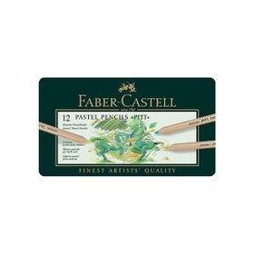 Faber-Castell Pitt Pastel Pencil Tin 12