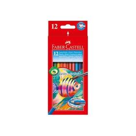 Faber-Castell Watercolour Pencils Box 12
