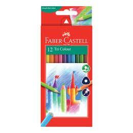 Faber-Castell Tri Colour Pencil Set