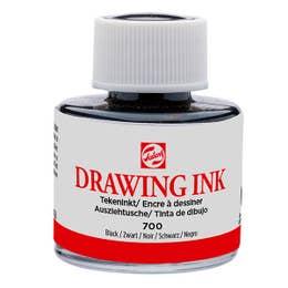 Talens Waterproof Drawing Indian Ink Black 30ml