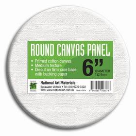 National Art Materials Round Canvas Panels