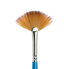 Winsor & Newton Cotman 888 Watercolour Fan Brush Short Handle Size 2