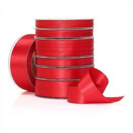 Vandoros Poly Satin Red Ribbon