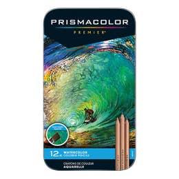 Prismacolor Watercolour Pencil Tin 12