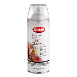 Krylon Triple-Thick Crystal Clear Glaze Spray