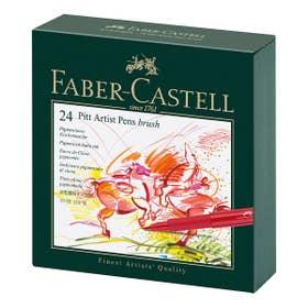 Faber-Castell Pitt Artist Brush Pen Set 24