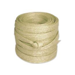Vandoros Eco Ribbon Cream 10mm x 1m