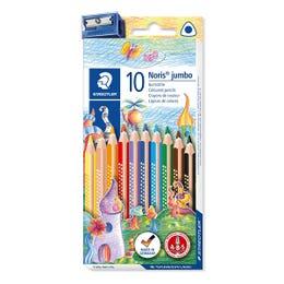 STAEDTLER Noris Club Jumbo Triangular Coloured Pencil Set