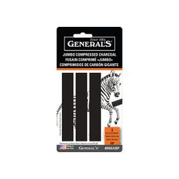 General's Jumbo Compressed Charcoal Pack 3
