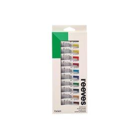 Reeves Acrylic Paint Sets Set 12 x 10ml Tubes