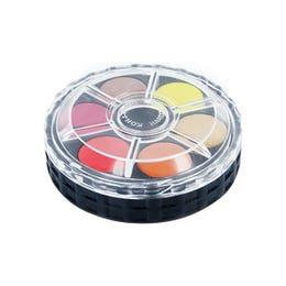 Koh-I-Noor Watercolour Discs Assorted Set 12