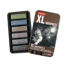 Derwent XL Graphite Open Tin 6