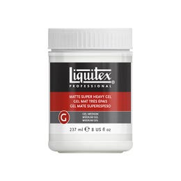 Liquitex Matte Super Heavy Gel Medium 237ml