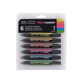 Winsor & Newton Neon Marker Set Packaging