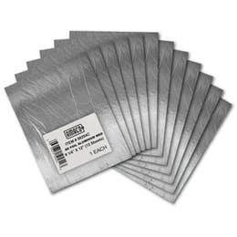 Artemboss Embossing Shims 230mm x 300mm Aluminum Medium Pack 12