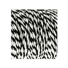 Bakers Twines Black / White 12ply, 100m