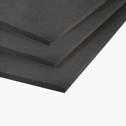 "Black Core Foamboard 5mm 20"" x 30"" Black"