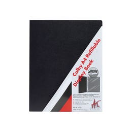 Colby 257 Refillable Display Folders 20 Sleeves A4