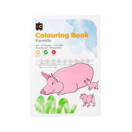 EC Colouring Books Farm Life