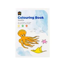 EC Colouring Books Sea Life