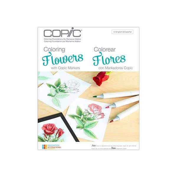 Copic Colouring Foundations Book Flowers| Eckersley\'s Art & Craft
