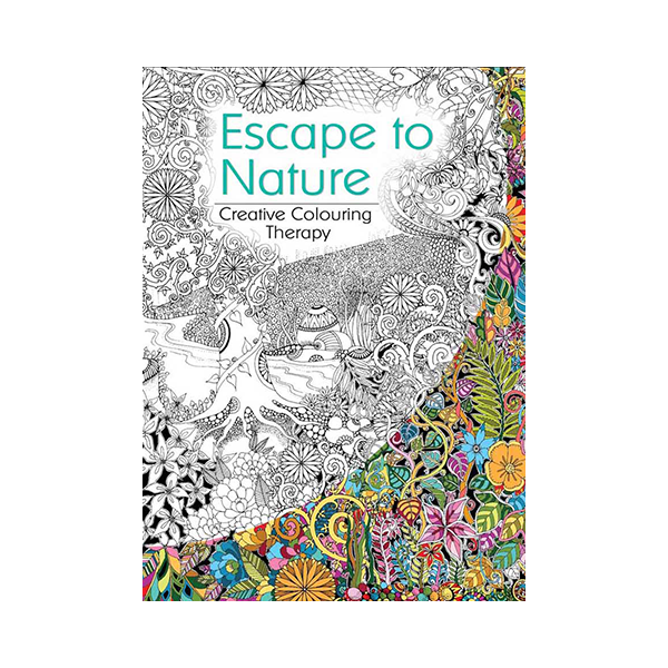 Escape To Nature Colouring Book | Eckersley\'s Art & Craft