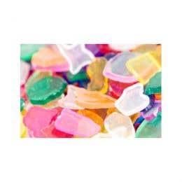 Shamrock Craft Transparent Plastic Mosiac Gem Pack