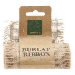 Shamrock Craft Burlap Ribbon Roll