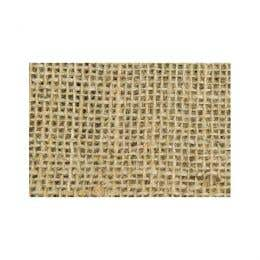 Shamrock Craft Assorted Hessian Square Pack